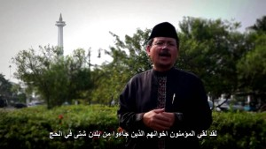 Ismail Yusanto, spokesman of Hizbut Tahrir Indonesia (YouTube still)
